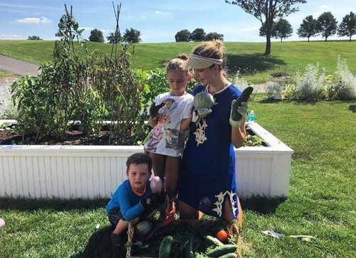 Vườn rau đủ loại của ái nữ nhà Donald Trump