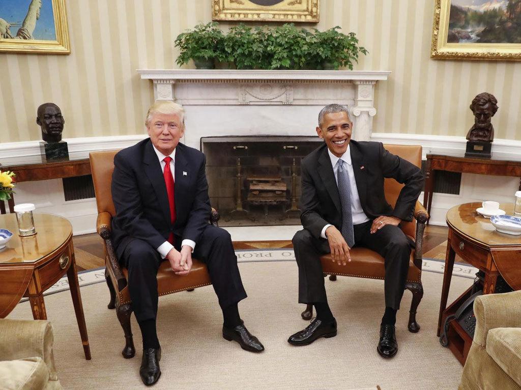 Chi tiết ngạc nhiên khi Trump gặp Obama tại Nhà Trắng