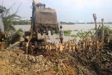 Vỡ bờ bao, dân ngoại thành Sài Gòn thiệt hại cả tỉ đồng