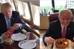 Bí ẩn thực đơn của Trump