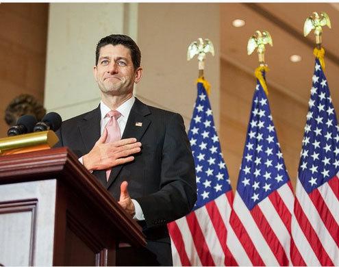 Chủ tịch Hạ viện Mỹ Paul Ryan được tái đề cử