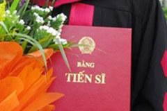 Đào tạo tiến sĩ ở VN không rẻ như ông Bùi Văn Ga nói