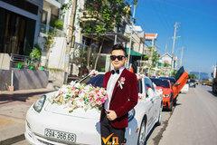 'Choáng ngợp' dàn siêu xe gần trăm tỷ trong đám cưới của đại gia Quảng Ninh