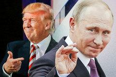 Trump chưa lên, Putin đã thắng thế