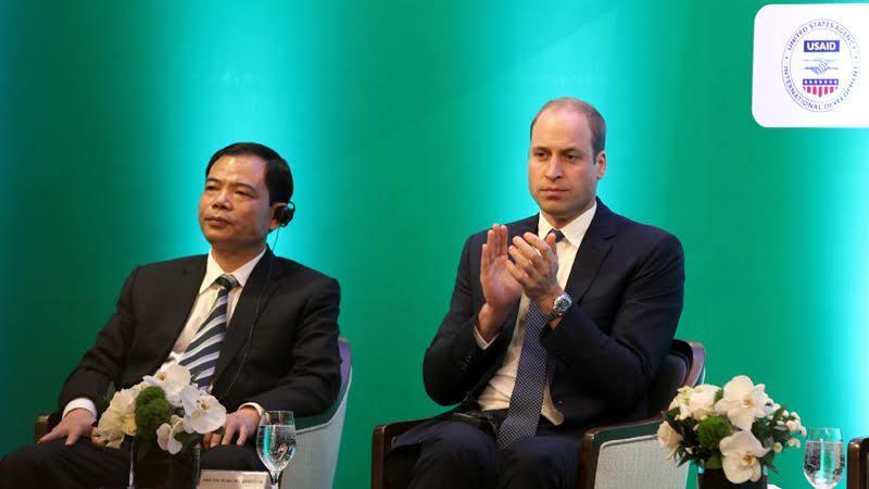 3 câu hỏi lớn của Hoàng tử Anh ở Hà Nội