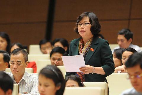 Đại biểu Ngô Thị Minh