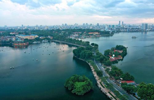 Hồ điều hòa - 'trái tim xanh' giữa lòng đô thị