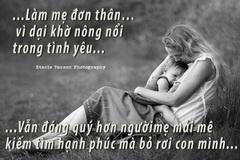 Làm mẹ đã khó, mẹ đơn thân còn khó gấp ngàn lần