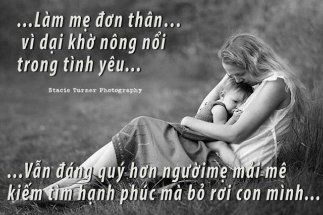 mẹ đơn thân, mẹ và bé, sinh con, gia đình