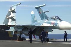 Xem chiến cơ, chiến hạm Nga dồn dập đánh IS