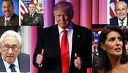 Hôm nay Trump công bố nhân sự nội các