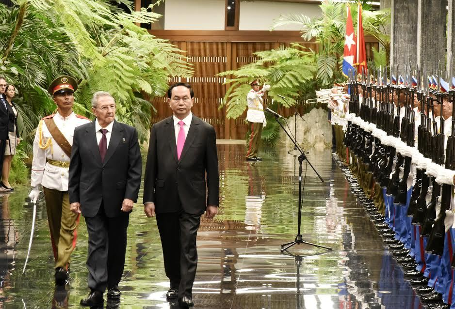 Món quà đặc biệt Chủ tịch nước trao cho Cuba