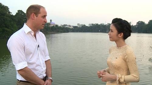 Tiết lộ của MC VTV trò chuyện với hoàng tử William