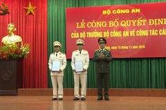 Bổ nhiệm, biệt phái một số tướng lĩnh quân đội, công an