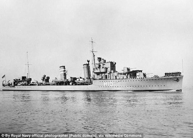 Bí ẩn xác tàu chiến dưới đáy biển bỗng nhiên mất tích