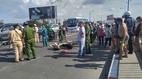 Tai nạn chết người giữa cầu, đường Sài Gòn tê liệt