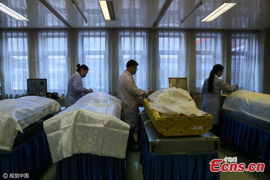 xác chết, tử thi,Trung Quốc bá quyền