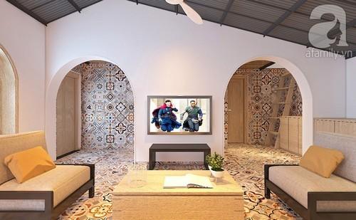 Với 200 triệu đồng, KTS đã thiết kế cho vợ chồng trẻ có được ngôi nhà 54m² đẹp mắt