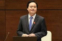 Lần đầu của tân Bộ trưởng và lần thứ 34 của Nhà giáo Việt Nam