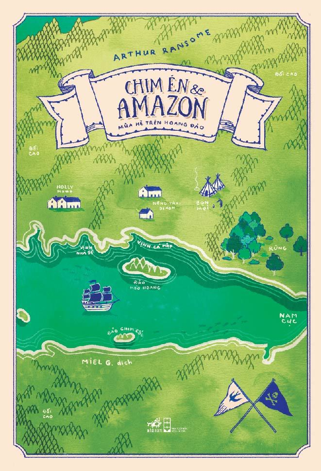 Chim Én và Amazon, Mùa hè trên hoang đảo, tác giả Arthur Ransome