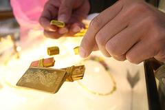 Cảnh giác với loại vàng trộn bằng bột kim loại lạ