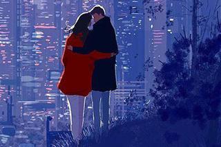Mê mẩn bộ tranh tình yêu 'chỉ cần cảm nhận là đủ'