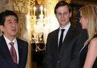 Hình ảnh ái nữ nổi tiếng của Trump cùng bố tiếp nguyên thủ Nhật