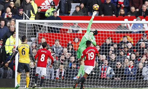 Video bàn thắng MU 1-1 Arsenal