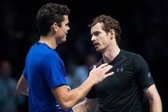 Nhọc nhằn hạ Raonic, Murray bước vào CK World Tour Finals