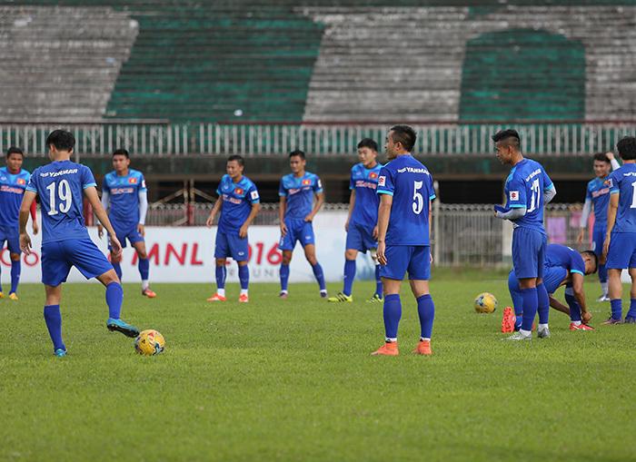 ĐTVN, AFF Cup 2016, ĐTVN vs Myanmar, Xem trực tiếp trận ĐTVN vs Myanmar, HLV Hữu Thắng.