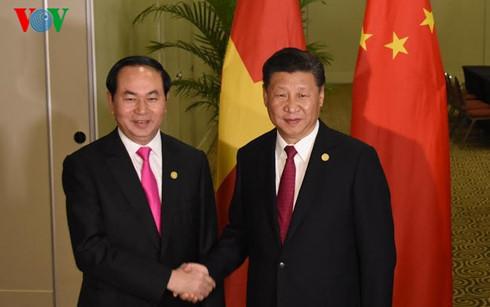 Trần Đại Quang, Chủ tịch nước Trần Đại Quang, APEC, Putin, Tập Cận Bình