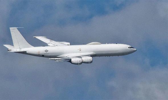máy bay tối mật, máy bay ngày tận thế, Mỹ, lộ diện