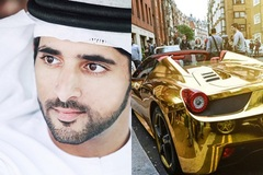 Thú vui chơi xa xỉ của Thái tử đẹp trai nhất Dubai