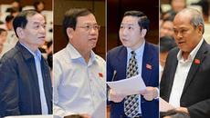 Bộ trưởng nợ lời hứa từ chức và trả lời về sân sau thứ trưởng
