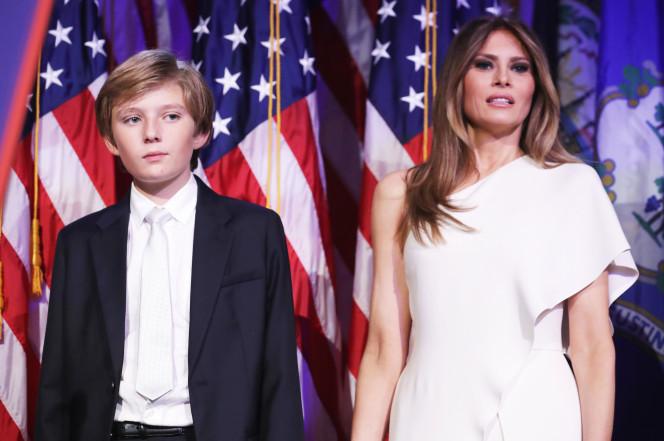 Vợ Trump sẽ không dọn vào Nhà Trắng