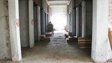 Xót xa những khu chợ huyện tiền tỷ bỏ hoang, chăn thả trâu bò