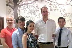 Nhà hàng phục vụ Hoàng tử Anh hút chính khách