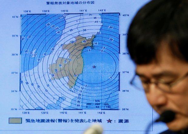 Động đất, sóng thần tấn công Nhật Bản