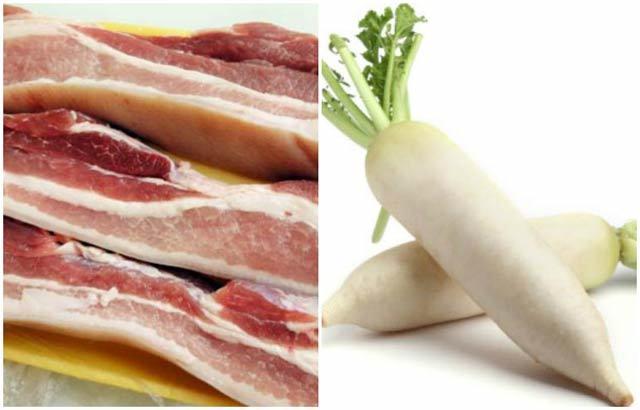 Cách làm món thịt kho củ cải đưa cơm ngày lạnh