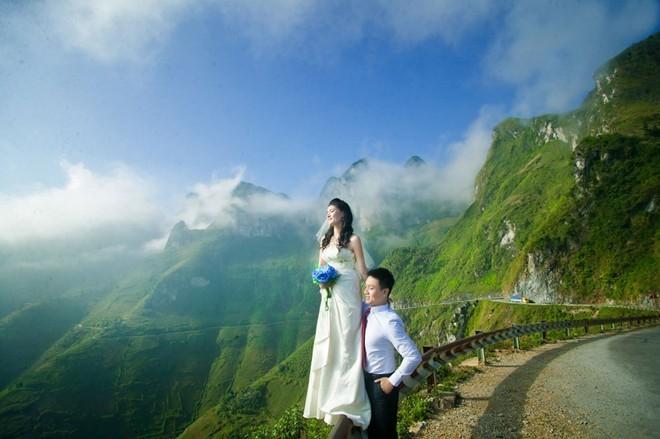 Những địa điểm tuyệt vời để chụp ảnh cưới ở miền núi cao