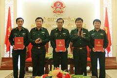 Điều động, bổ nhiệm nhân sự cao cấp Bộ Tư lệnh Bộ đội Biên phòng