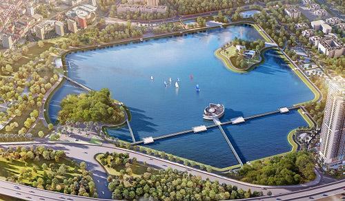 Vingroup nhận chuyển nhượng triển khai dự án Công viên Cầu Giấy
