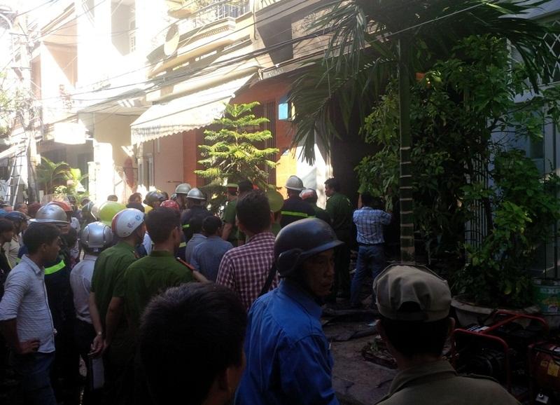 Đà Nẵng: Cháy hiệu may, 1 người tử vong