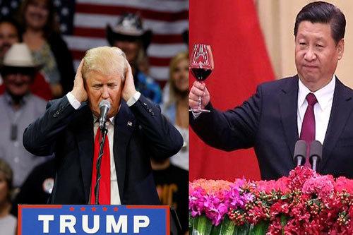 Donald Trump gây chấn động, Trung Quốc nổi lên 'chiếm cờ'