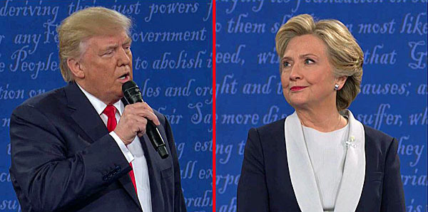 Trump bỏ ý định đòi điều tra Hillary