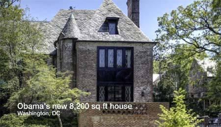 Chuẩn bị nghỉ hưu: Obama mua 2 biệt thự hàng triệu USD