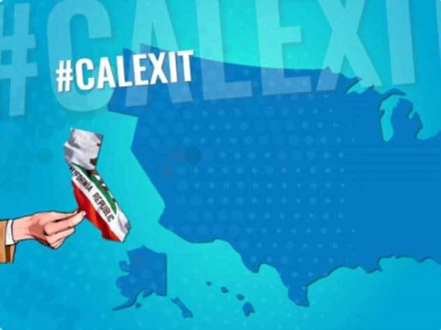 Vì sao California muốn tách khỏi Mỹ?