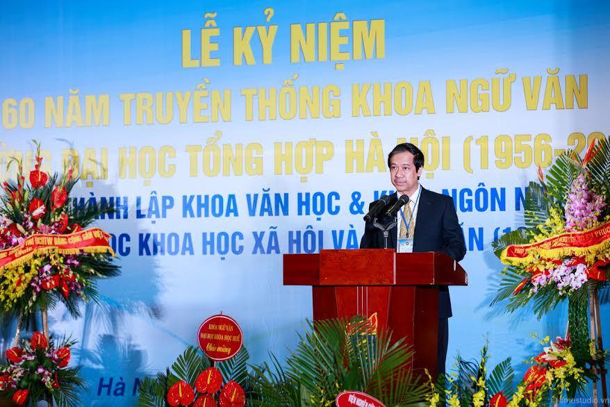 Giám đốc ĐHQG HN: Sinh viên Ngữ văn sẽ làm gì?
