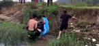 3 chiến sĩ công an cứu phụ nữ nhảy cầu tự tử
