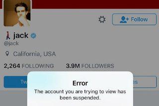 """CEO Twitter bất ngờ bị thủ tiêu tài khoản trên """"sân nhà"""""""